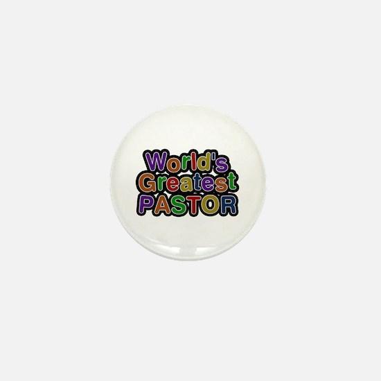 World's Greatest PASTOR Mini Button