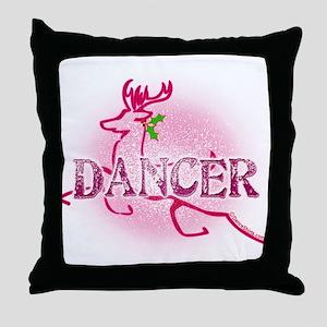 New Reindeer Dancer by DanceShirts.com Throw Pillo