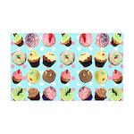 Polka Dot Cupcakes 38.5 x 24.5 Wall Peel