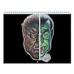 Werewolf & Vampire 2018 12-Month Wall Calendar