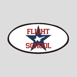 Flight School Patches