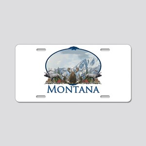 Montana Aluminum License Plate