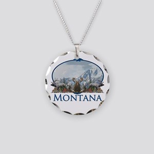 Montana Necklace Circle Charm