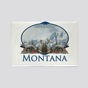 Montana Rectangle Magnet