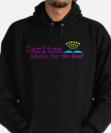 Carlton School for the Deaf Hoodie (dark)