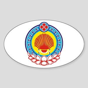 Kalmykia Sticker (Oval)