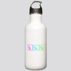 Cat Squares Stainless Water Bottle 1.0L