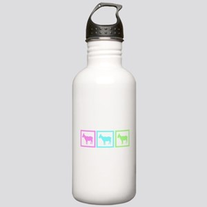 Goat Squares Stainless Water Bottle 1.0L