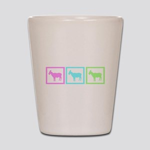 Goat Squares Shot Glass