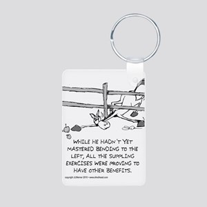 Near Side: Within Reach - Aluminum Keychain