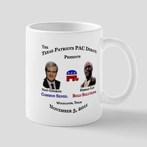 Newt & Cain Debate Mug
