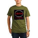 Space Logo Organic Men's T-Shirt (dark)