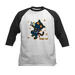 Ninja cat Kids Baseball Jersey