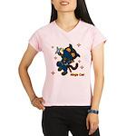 Ninja cat Performance Dry T-Shirt