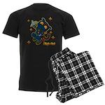 Ninja cat Men's Dark Pajamas