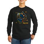 Ninja cat Long Sleeve Dark T-Shirt
