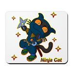 Ninja cat Mousepad