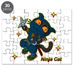 Ninja cat Puzzle