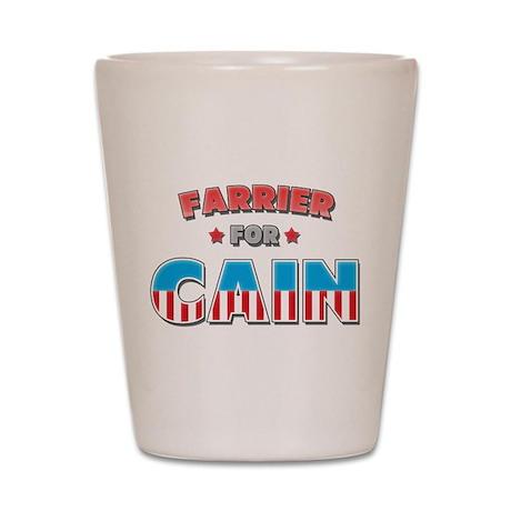 Farrier for Cain Shot Glass