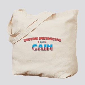 Driving instructor for Cain Tote Bag