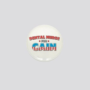 Dental nurse for Cain Mini Button