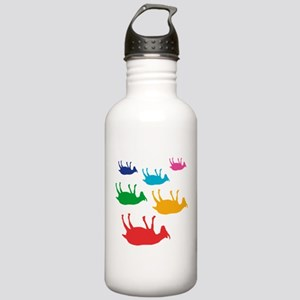 Fainting Goats Rainbow Stainless Water Bottle 1.0L
