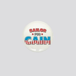 Sailor for Cain Mini Button