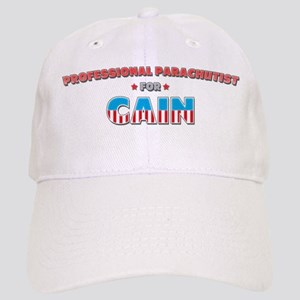 Professional parachutist for Cap