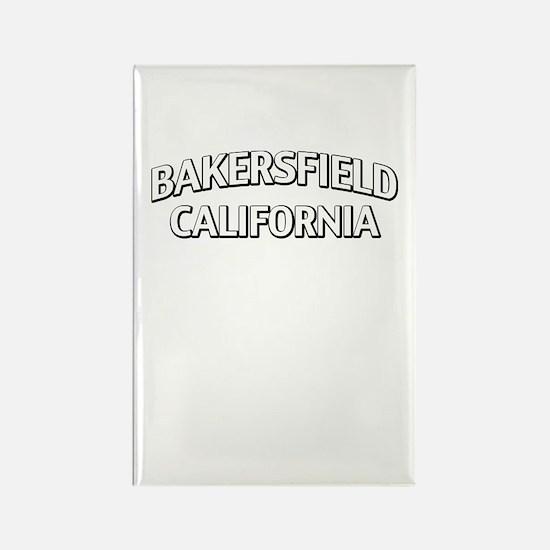 Bakersfield California Rectangle Magnet