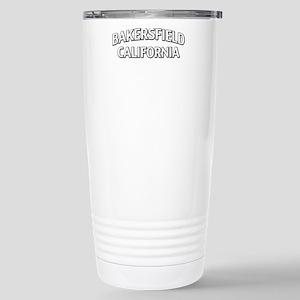 Bakersfield California Stainless Steel Travel Mug