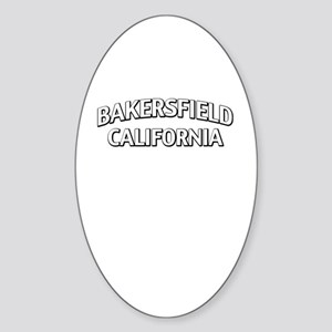 Bakersfield California Sticker (Oval)