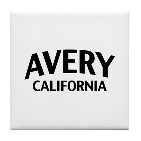Avery California Tile Coaster