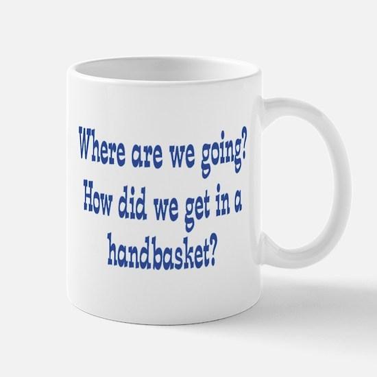 Hell in a Handbasket Mug