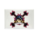 Cute Pirate Captain Magnet (10 Pk)