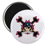 "Cute Pirate Captain 2.25"" Magnet (10 Pk)"