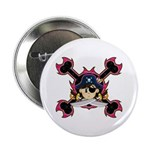 "Cute Pirate Captain 2.25"" Button (10 Pk)"