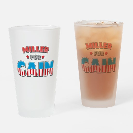 Miller for Cain Drinking Glass