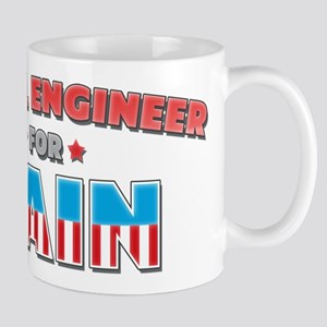 Metal engineer for Cain Mug