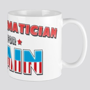 Mathematician for Cain Mug