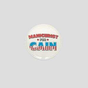 Manicurist for Cain Mini Button