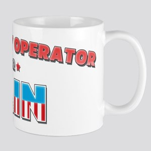 Machinery operator for Cain Mug
