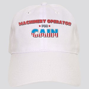 Machinery operator for Cain Cap
