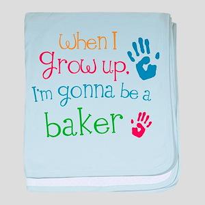 Kids Future Baker baby blanket