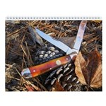 Vintage Outdoors Wall Knife Calendar 2013