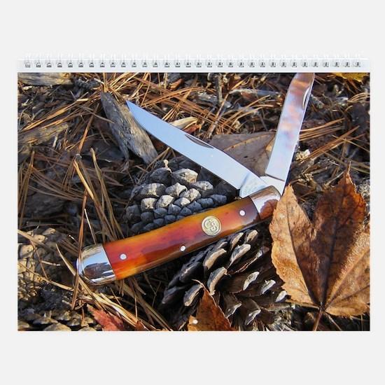 Vintage Outdoors Wall Knife Calendar 2013