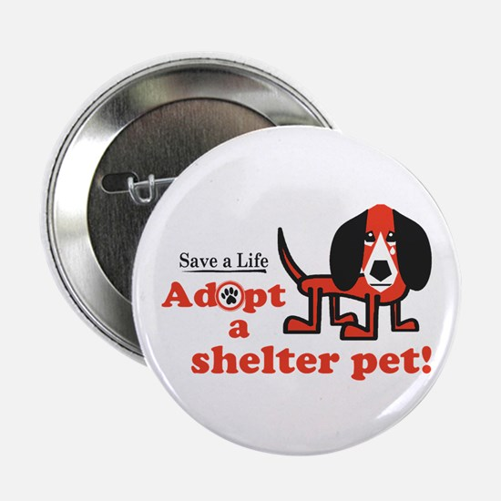 "Adopt Shelter Pets 2.25"" Button"