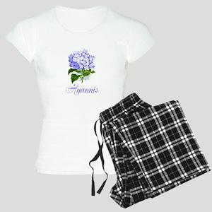 Hyannis Hydrangeas Women's Light Pajamas