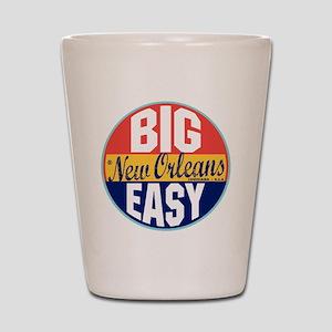 New Orleans Vintage Label Shot Glass