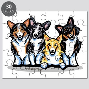 Four Corgis Puzzle