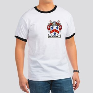 McDermott Coat of Arms Ringer T